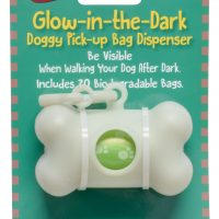 BAG DISPENSER GLOW-IN-DARK + 20