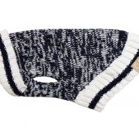 CABIN SWEATER NAVY MELANGE M